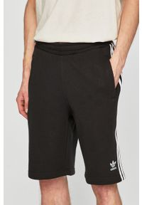 Czarne szorty adidas Originals na co dzień, casualowe