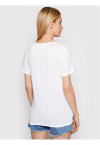 Superdry T-Shirt W1010521A Biały Regular Fit. Kolor: biały