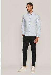 Niebieska koszula medicine elegancka, długa, button down