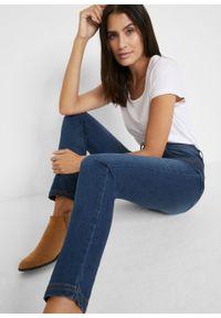 Niebieskie jeansy bonprix retro