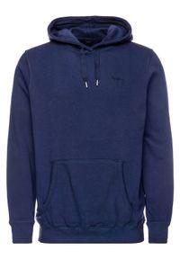 Pepe Jeans Bluza PM581155 Granatowy Regular Fit. Kolor: niebieski
