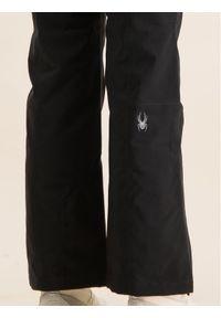 Czarne spodnie sportowe Spyder narciarskie