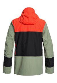 Quiksilver Kurtka snowboardowa Sycamore EQYTJ03233 Kolorowy Modern Fit. Wzór: kolorowy. Sport: snowboard