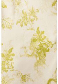 Żółta sukienka AllSaints maxi, prosta, na ramiączkach