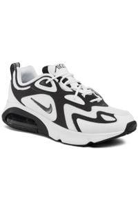 Białe półbuty Nike na co dzień, z cholewką, casualowe