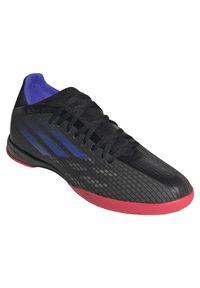 Adidas - Buty piłkarskie halowe adidas X Speedflow.3 IN FY3303. Materiał: guma, syntetyk. Szerokość cholewki: normalna. Wzór: gładki. Obcas: na płaskiej podeszwie. Sport: piłka nożna