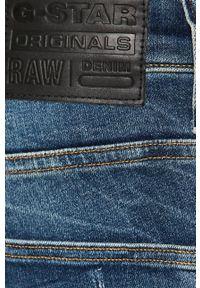 G-Star RAW - G-Star Raw - Jeansy. Kolor: niebieski