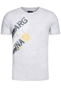 La Martina T-Shirt RMR304 JS206 Szary Regular Fit. Kolor: szary