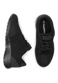 Czarne buty do fitnessu KangaRoos na co dzień, z cholewką