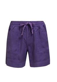 Deha - Szorty DEHA EASY. Materiał: lyocell, tkanina, bawełna. Wzór: aplikacja. Sezon: lato
