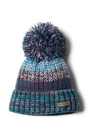 Wielokolorowa czapka columbia na zimę