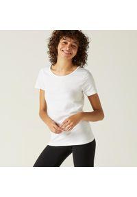 NYAMBA - Koszulka krótki rękaw fitness. Materiał: bawełna, materiał. Długość rękawa: krótki rękaw. Długość: krótkie. Sport: fitness