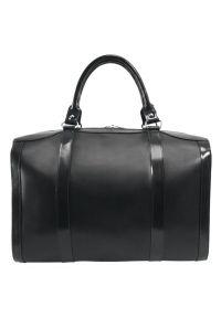 Czarna torba na laptopa MCKLEIN w kolorowe wzory #4