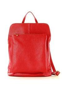 Plecak torebka MARCO MAZZINI PL49h. Materiał: skóra. Styl: elegancki
