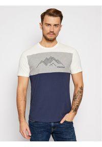 Maloja T-Shirt KorphuM 30504-1-8325 Kolorowy Relaxed Fit. Wzór: kolorowy