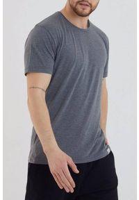 Szary t-shirt IVET klasyczny, na co dzień