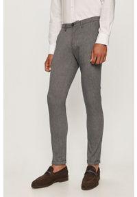 Baldessarini - Spodnie. Kolor: niebieski. Materiał: tkanina. Wzór: gładki