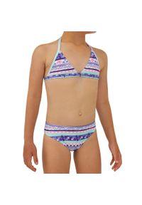 OLAIAN - Kostium Dwuczęściowy Tina 100 Koia Dla Dzieci. Kolor: fioletowy. Materiał: poliester, elastan, materiał