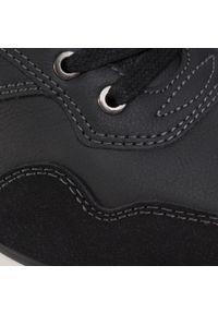 Czarne sneakersy Lanetti