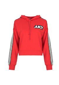 Bluza Juicy Couture z nadrukiem, krótka