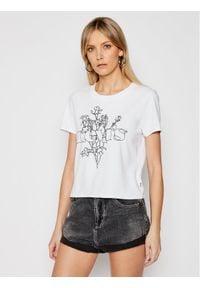 Levi's® T-Shirt 29674-0140 Biały Regular Fit. Kolor: biały
