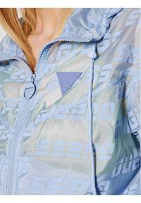 Niebieska kurtka przejściowa Guess