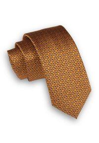 Krawat Alties elegancki, w geometryczne wzory