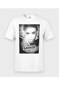 MegaKoszulki - Koszulka męska Savage. Materiał: bawełna