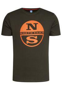 Zielony t-shirt North Sails