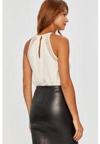 Biała bluzka Answear Lab wakacyjna, na co dzień, na ramiączkach #5