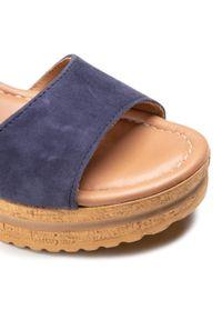 Niebieskie sandały Salamander