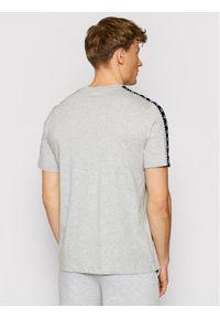 Kappa T-Shirt Ilyas 309001 Szary Regular Fit. Kolor: szary