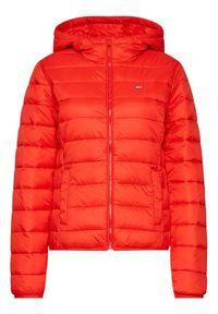 Czerwona kurtka puchowa Tommy Jeans