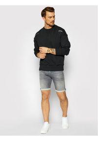 Jack & Jones - Jack&Jones Bluza Connell 12189342 Czarny Oversized Fit. Kolor: czarny