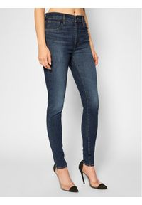 Levi's® Jeansy 720™ 52797-0123 Granatowy Super Skinny Fit. Kolor: niebieski. Materiał: jeans