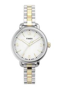 Biały zegarek Timex #5