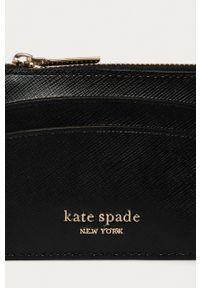 Kate Spade - Portfel skórzany. Kolor: czarny. Materiał: skóra. Wzór: gładki #4
