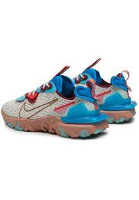 Beżowe buty sportowe Nike z cholewką, na co dzień