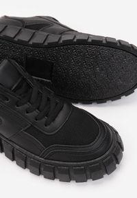 Renee - Czarne Sneakersy Aethirise. Kolor: czarny