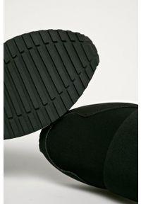 Czarne buty sportowe Aldo z cholewką, na sznurówki