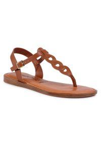 Brązowe sandały Tamaris casualowe, na co dzień