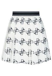 Biała spódnica plisowana Guess