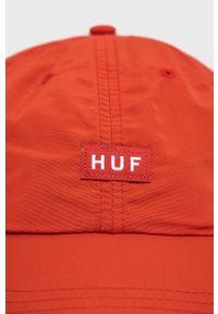 HUF - Czapka. Kolor: czerwony