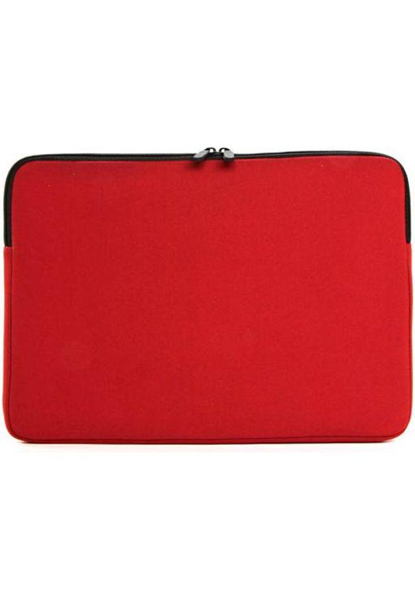 Czerwone etui na laptopa NoName