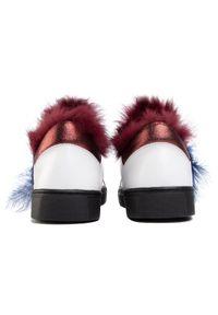 Białe buty sportowe Eva Minge