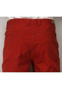 Czerwone spodnie Ezreal casualowe, na co dzień, w kolorowe wzory