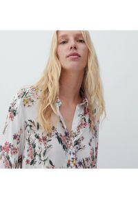Reserved - Wzorzysta koszula z wiskozy - Wielobarwny. Materiał: wiskoza