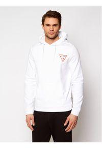 Guess Bluza M1RQ52 K6ZS1 Biały Slim Fit. Kolor: biały