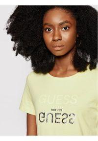 Żółty t-shirt Guess #5