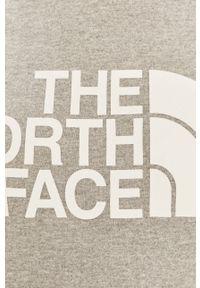 The North Face - Bluza. Okazja: na co dzień. Kolor: szary. Długość rękawa: długi rękaw. Długość: długie. Wzór: nadruk. Styl: casual